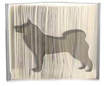 Akita dog pattern