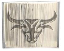 Bulls head pattern