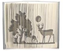 A deer scene pattern
