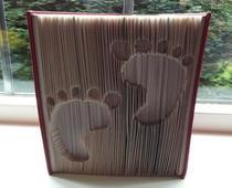 baby feet pattern