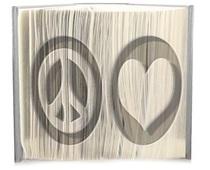 Peace love pattern