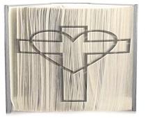 cross heart pattern