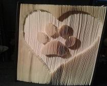 heart paw pattern