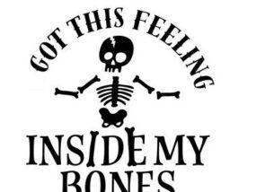 feeling inside my bones image