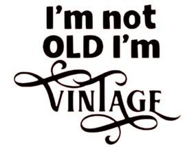 Not Old Vintage pattern