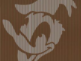 donald duck book folding pattern